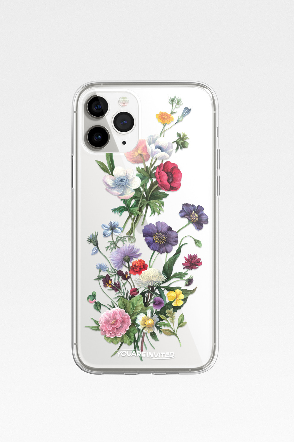 Flower garden clear case