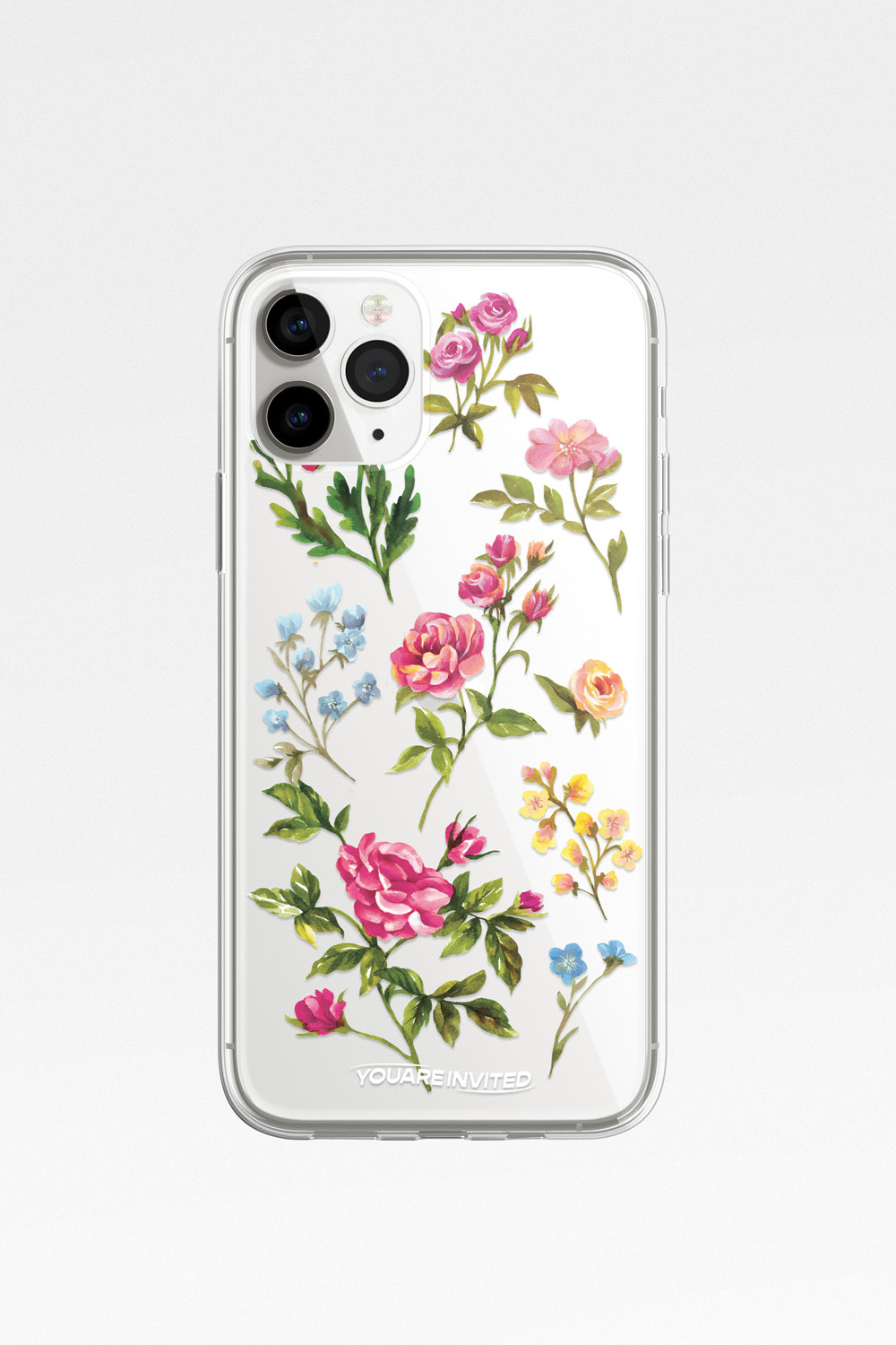 Wild flower clear case
