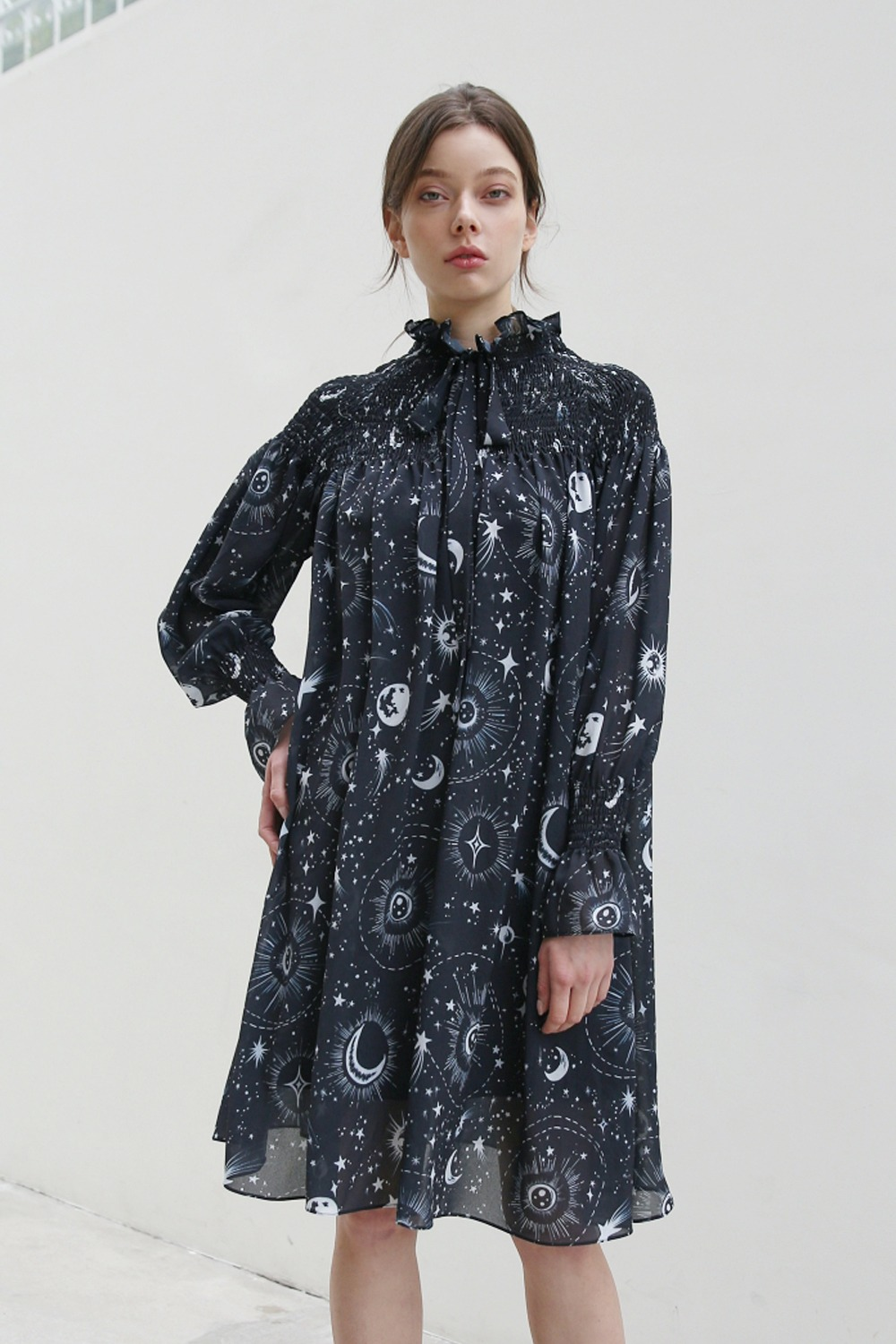 Universe high neck dress